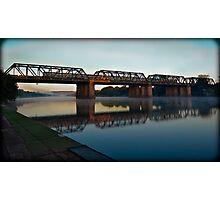 Victoria Bridge (Penrith, Australia) Photographic Print