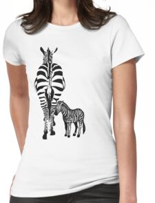 Precious Stripes Womens Fitted T-Shirt