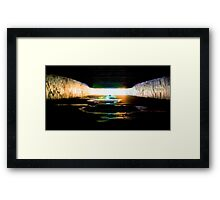 Toxic Water Framed Print