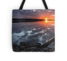 """Winter Sunset"" Tote Bag"