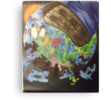 Endangered Earth Canvas Print