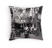 Another Day at the Office Throw Pillow