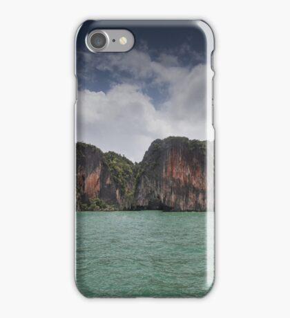 Limestone islands in Thailand iPhone Case/Skin
