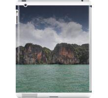 Limestone islands in Thailand iPad Case/Skin