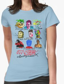 Artist Comrades I... Love Love Love on Red Bubble T-Shirt