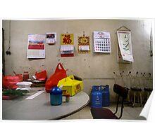 Chinese Restaurant, North Jakarta, Indonesia Poster