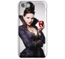 Regina Mills as The Evil Queen with apple iPhone Case/Skin