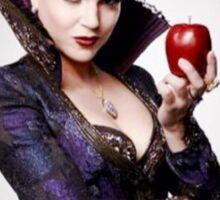 Regina Mills as The Evil Queen with apple Sticker