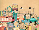 Traffic Jam – A Postcard from India by studiowotmot