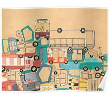 Traffic Jam – A Postcard from India Poster
