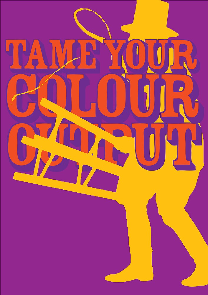 Pantone Poster 2 by James Calvert