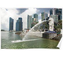 Merlion, Singapore Poster