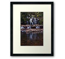 """Liffey Falls @ 33mm"" Framed Print"