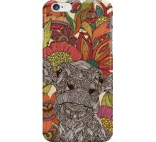 Arabella and the flowers iPhone Case/Skin
