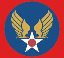 United States Roundel 2 WW2 by DarkHorseDesign