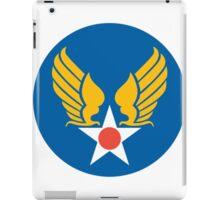 United States Roundel 2 WW2 iPad Case/Skin