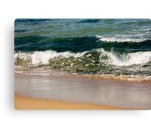 Emerald Shore Canvas Print