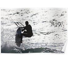 KIte surfing 7753 Poster