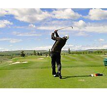 Golf Swing F Photographic Print