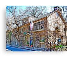 Big Stone County Home   Canvas Print