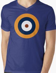 British Roundel WW2 Mens V-Neck T-Shirt