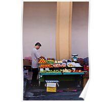 Fruit Seller, Penang, Malaysia Poster