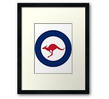 Australian Roundel WW2 Framed Print