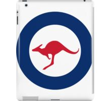Australian Roundel WW2 iPad Case/Skin