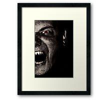 Vampire Zero Framed Print