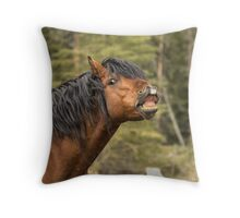 Whew...Big Whiff! Throw Pillow