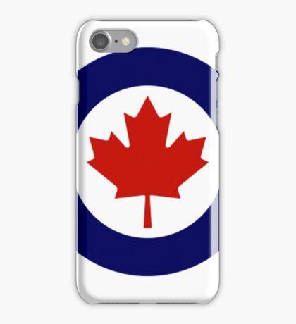 Canadian Roundel WW2 iPhone Case/Skin