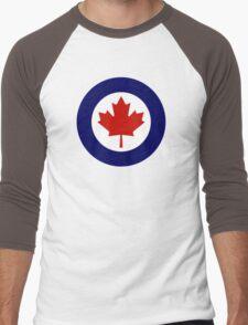 Canadian Roundel WW2 Men's Baseball ¾ T-Shirt