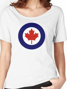 Canadian Roundel WW2 Women's Relaxed Fit T-Shirt