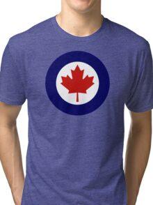 Canadian Roundel WW2 Tri-blend T-Shirt