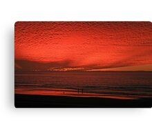 The Scorching Sky  Canvas Print