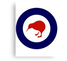 New Zealand Roundel WW2 Canvas Print