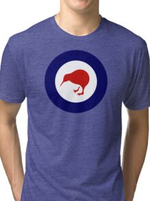 New Zealand Roundel WW2 Tri-blend T-Shirt