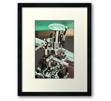 RC Helicopter Gears Framed Print