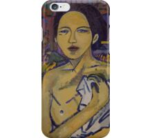 Peasant Woman in the Rice Field iPhone Case/Skin