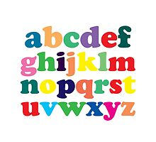 Colorful Alphabet by anabellstar