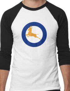 South African Roundel WW2 Men's Baseball ¾ T-Shirt
