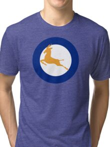 South African Roundel WW2 Tri-blend T-Shirt