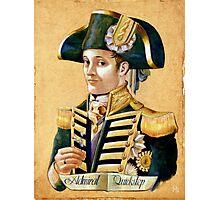 Admiral Quickstep Photographic Print