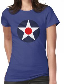 United States Roundel WW2 Womens Fitted T-Shirt