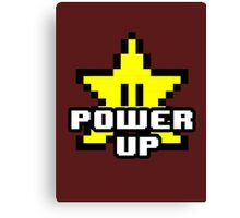 POWER UP! Canvas Print