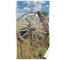 Old Wagons Never Die Poster
