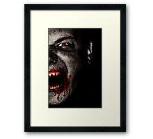 Vampire 0 Framed Print
