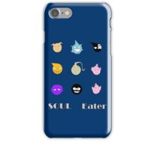 Soul Eater Souls iPhone Case/Skin