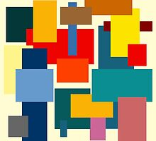 Color Blocks #1 by rontrickett