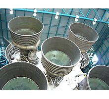 Booster Rockets. Photographic Print